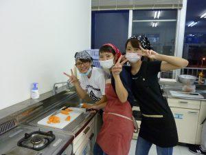 作業療法学科の調理実習
