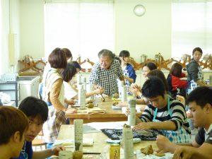 陶芸の講義が始まりました!