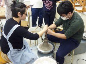 陶芸の授業