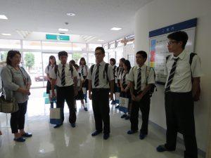 西原高校2年生★学校見学