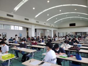 国家試験の願書記入