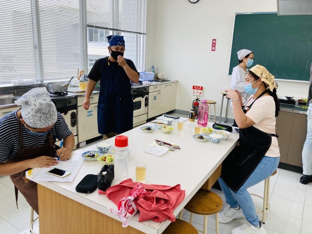 介護福祉学科★調理実習